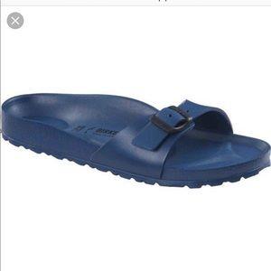 Birkenstock blue sandals